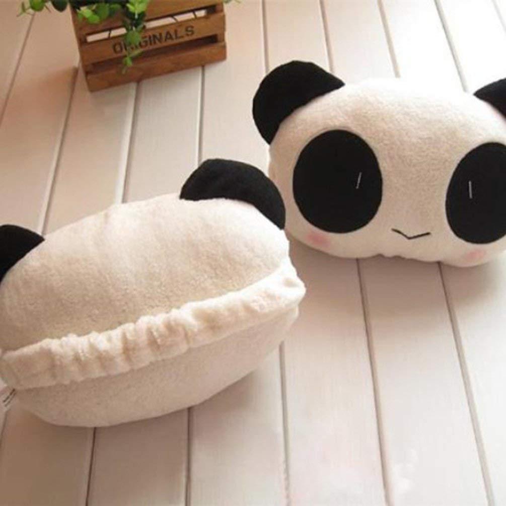 Cute Plush Panda Headrest Car Accessories Headrest Car Accessories Car Seat Lumbar Pillow Car Interior Accessories Supplies