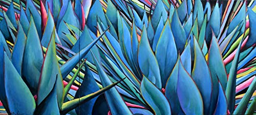 - Agave Wall Diptych