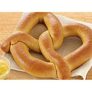 Bakery Authentic Bavarian Soft Pretzel, Shelf Stable Philadelphia Soft Pretzels Flavors, salt, plain & Sugar Cinamon MADE IN USA (salt) Not Frozen Fresh wheat White Bread (salt)