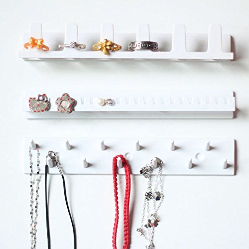 [Jewelry Earring Organizer Hanging Holder Necklace Display Stand Rack Holder New] (Hammer And Nail Halloween Costumes)