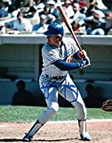Rick Monday Signed Autographed 8X10 Photo LA Dodgers Road Day At Bat w/COA