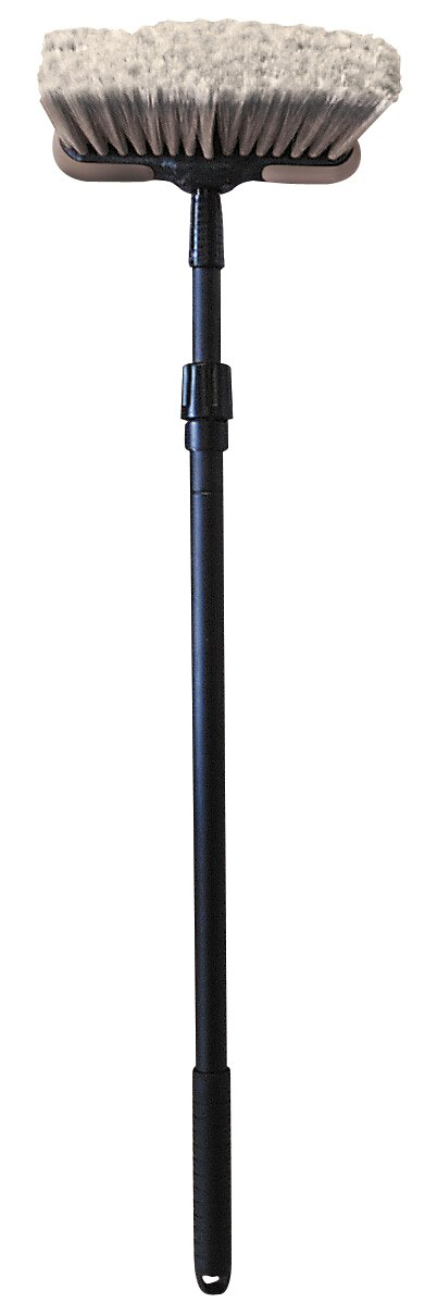 Carrand 93063 Deluxe Car Wash 8'' Dip Brush with Bumper and 28'' to 48'' Extension Handle by Carrand (Image #1)