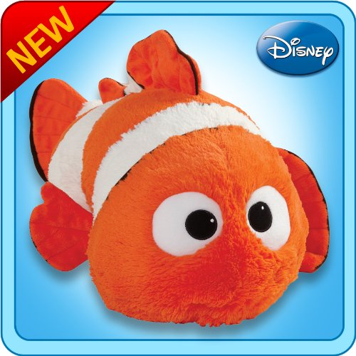 Pillow Pets Authentic Disney 18-Inch Nemo, Folding Plush Pillow-Large CJ Products LLC. DCP-Lg. Nemo