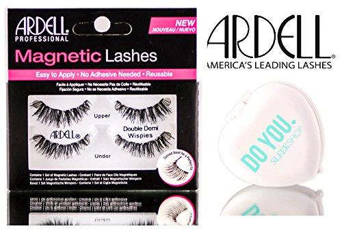Ardell Professional Magnetic Lashes (with Sleek Compact Mirror) (DOUBLE DEMI WISPIES)