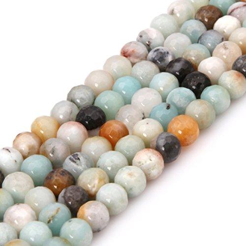 Natural Amazonite Round Beads - 7