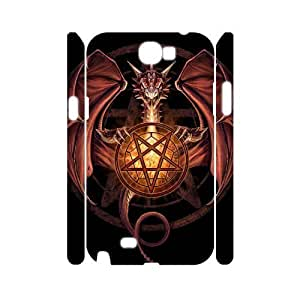 case Of Red Dragon Customized Hard Case For Samsung Galaxy Note 2 N7100