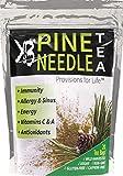 KBA - Pine Needle Tea Wild Harvested - Powerful Antioxidants Raw Vitamin C and A Preservative Free - Vegan and Paleo Friendly 20 Bag Pack