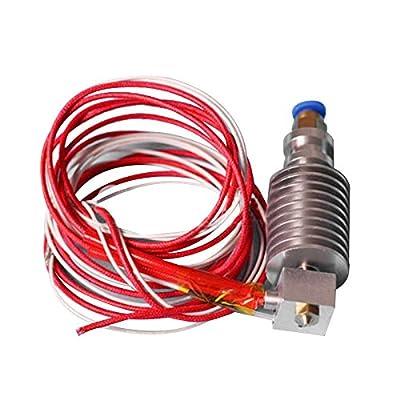 J-head V5 E3D Hotend 1.75mm/0.4mm Nozzle Bowden Extruder Reprap 3D Printer
