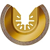 Rockwell RW8946 Sonicrafter 3-1/8-inch Universal Fit Carbide Grit Semicircle Blade
