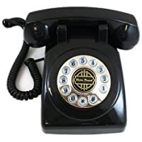 1950s Classic Black Home Desk Phone Replica