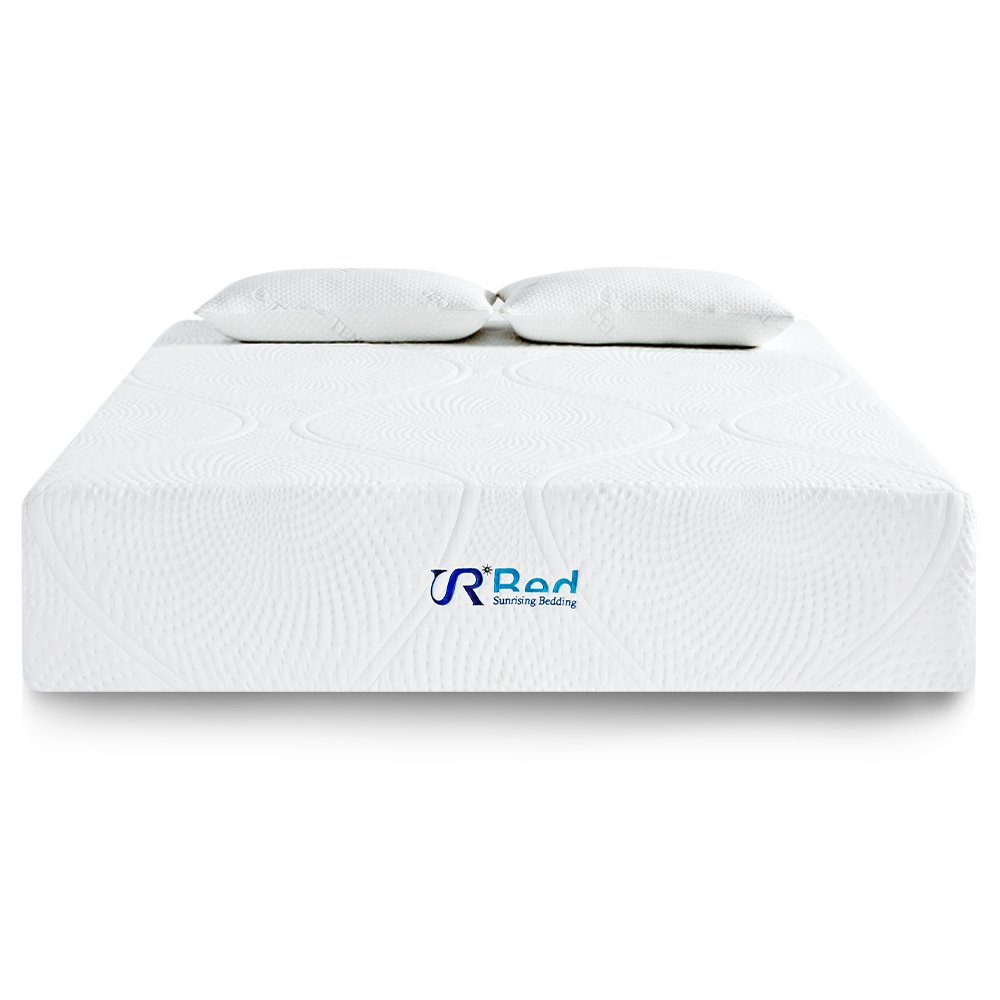 Sunrising Bedding Ultimate Comfort Plush 12 Inch Memory Foam Mattress Queen Size