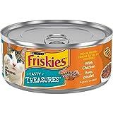 Friskies Tasty Treasures with Chicken in Gravy Wet Cat Food 156g