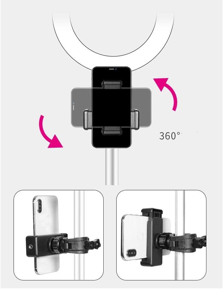 XG Inc Macro /& Ringlight Flashes LED Mobile Phone Live Broadcast Triangle Bracket with Fill Light,Desktop Floor-Standing HD Beauty Light Color : Single Model, Size : 35-110cm