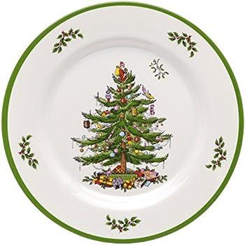 Amazon.com   Spode Christmas Tree 10-1/2-Inch Dinner Plates, Set ...