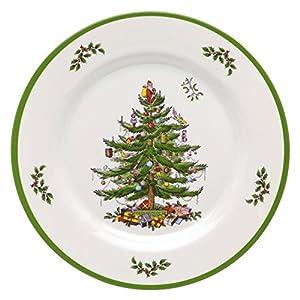 Spode Christmas Tree Melamine Dinner Plate, Set of 4