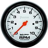 Auto Meter 5897 Phantom In-Dash Electric Tachometer