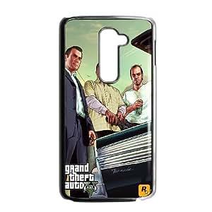 LG G2 Cell Phone Case Black_GTA 5 - Car Trunk Mszvp