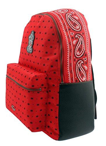 92e578889b3b COACH Mickey Charles Backpack in Prairie Bandana Print Bright Red   Amazon.ca  Luggage   Bags