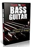 Learn How to Play Bass Guitar Lessons Instructional DVD