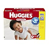 Health & Personal Care : Huggies Snug and Dry Diapers Economy Plus Pack, Size 5, 172 Count