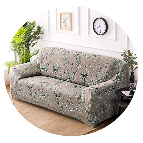littlepiggy Suitable for 1/2/3/4 Seater Sofa Cover Tight wrap All Inclusive sectional Elastic seat Couch Covers Pets Slipcovers Christmas,5893,AB 140-185cm