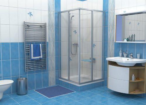 Ravak SRV2 90/90S blanco 900 x 900 mm para puerta corredera/Lote DE por esquina de: Amazon.es: Hogar
