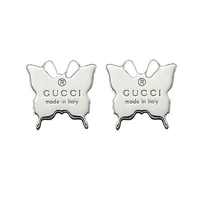 da1117629f3 GUCCI Trademark butterfly earrings YBD223985001  Amazon.co.uk  Jewellery