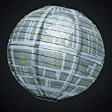 Groovy Official Star Wars Death Star Paper Ceiling Light 30cm Lamp Shade Cover