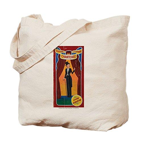 CafePress - AHS Freak Show Elsa - Natural Canvas Tote Bag, Cloth Shopping (Elsa Halloween Bag)