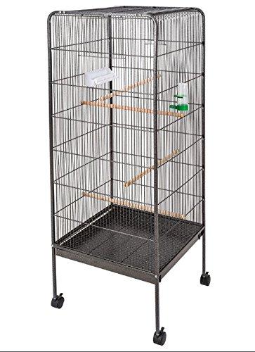 Grande jaula de pájaros pajarera - Ruedas para fácil movimiento ...