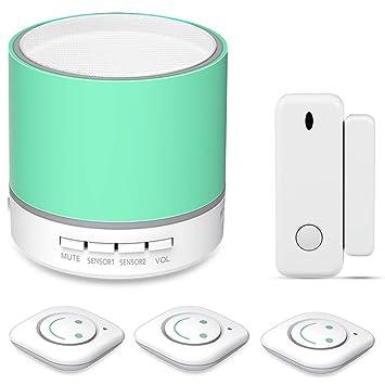Amazon.com : Toddler Door Alarm For Kids Safety, Child Door Motion Sensor Kit, Monitor For Infant Bedroom Safety, Wireless Vibration Detector, 14 Ringtones, 3 Levels Volume, LED Indicator : Baby