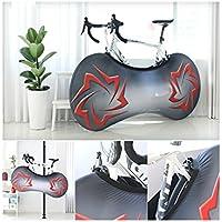 HOUHOUNNPO Copertura per Bici Copriruota per Bicicletta Protezione Antipolvere e Impermeabile (Colorata)