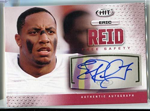 Eric Reid 2013 SAGE HIT #A1 AUTO RC Rookie Autograph Football Trading Card LSU