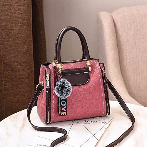 Gifts e tracolla Rosa borsa Holiday New spalla Grigio a a MSZYZ Stitching Borsa ZpWRw5qWF