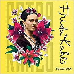 Frida Kahlo Mini Wall calendar 2020 (Art Calendar): Amazon ...