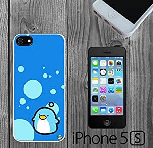 Cute Blue Penguin Custom made Case/Cover/skin FOR iPhone 5/5s