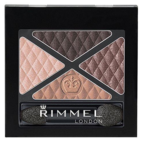 Rimmel Glam 'Eyes Quad Eye Shadow, Afternoon Tea, 0.15 Fluid