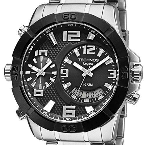 Relógio Masculino Technos Analógico, Digital T205FK/3P Prata