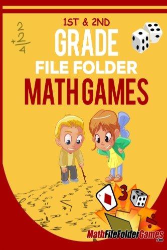 1st & 2nd Grade File Folder Math Games (Book 1) (File Folder Math Games)