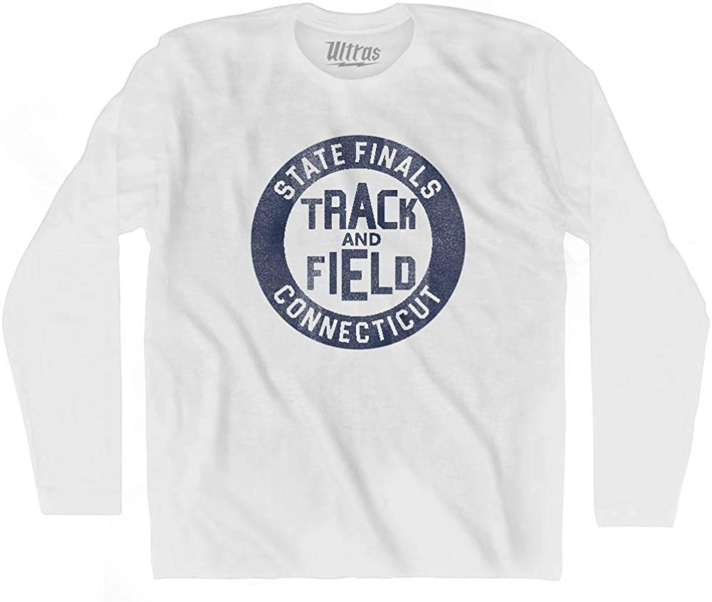 Connecticut State Finals Track /& Field Adult Cotton T-shirt