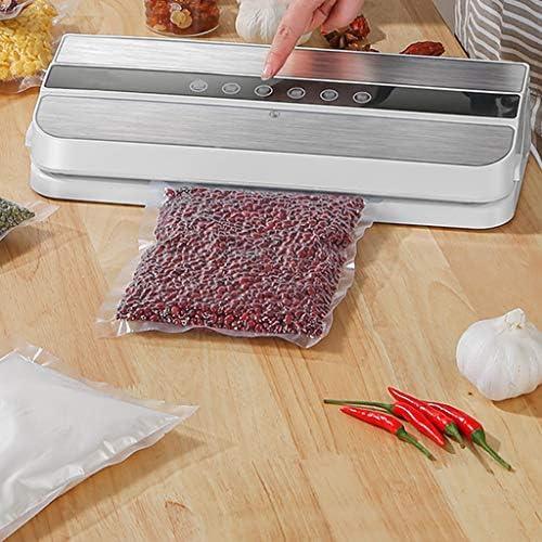 QQB Macchina Sottovuoto, Sigillatura Automatica Sottovuoto per Conservazione degli Alimenti, modalità Alimenti Asciutti E Umidi, Cucina per Uso Domestico