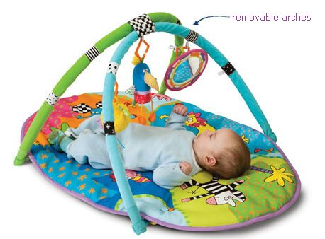 Taf Toys Safari Gym. Encourage Baby's Senses and Motor Skills Development by Taf Toys