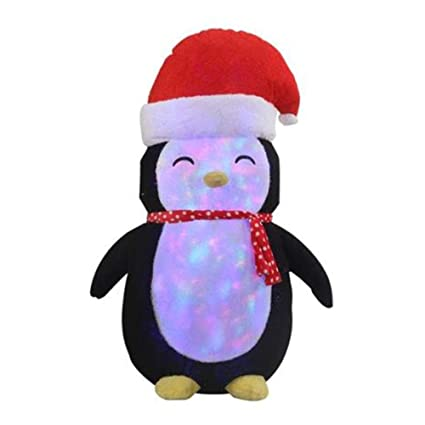 655fad26c0621 6FT Inflatable Penguin with Plush Fabric Cover Indoor Outdoor Christmas  Holiday Decorations