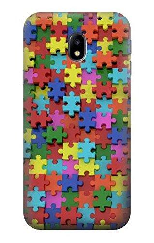 Puzzle Etui Coque Housse pour Samsung Galaxy J3 (2017) EU Version