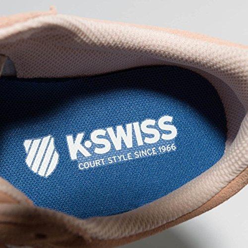 Swiss Chiaro Sde K Court Ginnastica da Scarpe Cheswick Donna Basse Rosa Pawdqpw