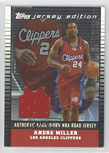 Andre Miller #21/99 (Basketball Card) 2002-03 Topps Jersey Edition - [Base] - Black #je ALM ()