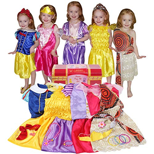 VGOFUN Girls Princess Dress up Costume Trunk for