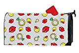XW-FGF Lip Drill And Emoticons Magnetic mailbox cover Yard Magnetic