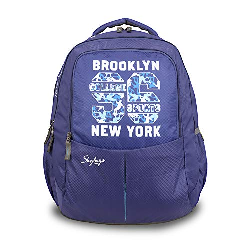 Skybags 31 Ltrs Blue Casual Backpack (BPBOLP1BLU)
