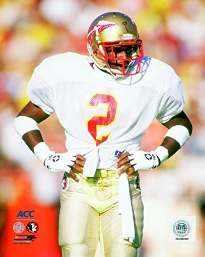 Deion Sanders Florida State University Seminoles 1987 Action Photo Print (11 x 14) -